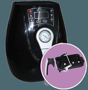 hình minh họa máy ép nhiệt công nghệ in ép nhiệt